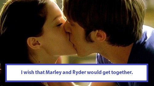 gleeksandtheirconfessions:  I wish that Marley and Ryder would get together.