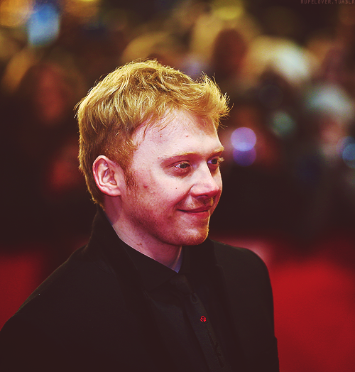 rupelover:  Rupert Grint attends the Necessary Death of Charlie Countryman premiere [9 feb 2013]