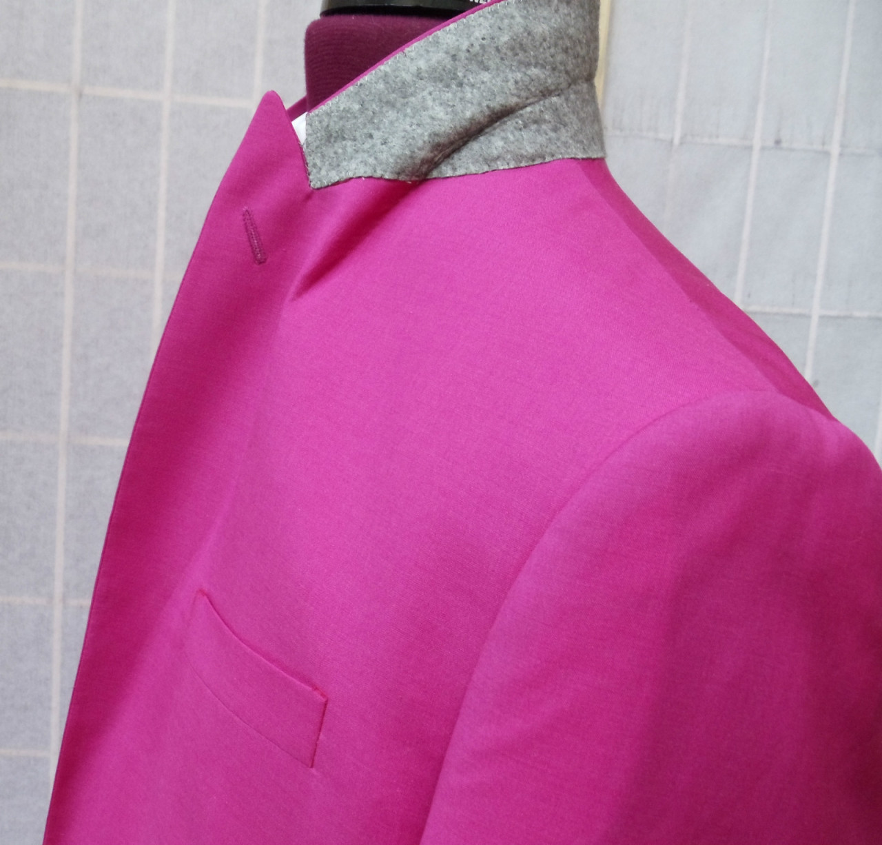 neon pink suit (it 48) • helmut langUS $449.95 BIN