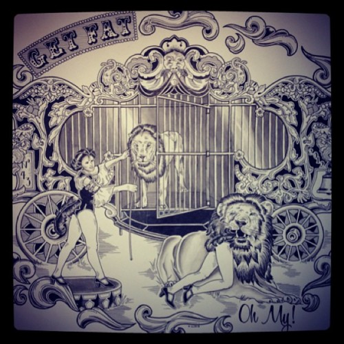 GETFAT  (at Three Kings Tattoo)