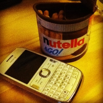 #nutella #anomnomnom #zarcie #mniam #germany #nokia #mobile