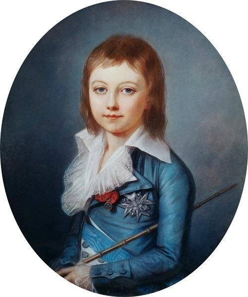 "vivelareine: ""A portrait of Louis Charles de France by Alexander Kucharsky, 1792. """
