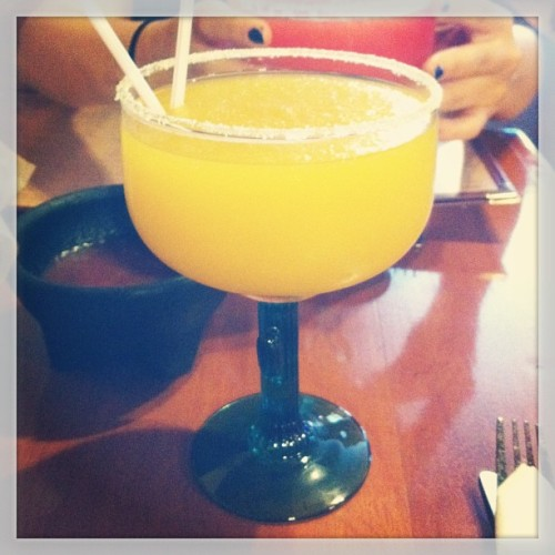 I never thought I'd be out drinking #margaritas on Cinco de Mayo, but here I am.  #daydrinking #sundayfunday (at Azteca Mexican Grill)
