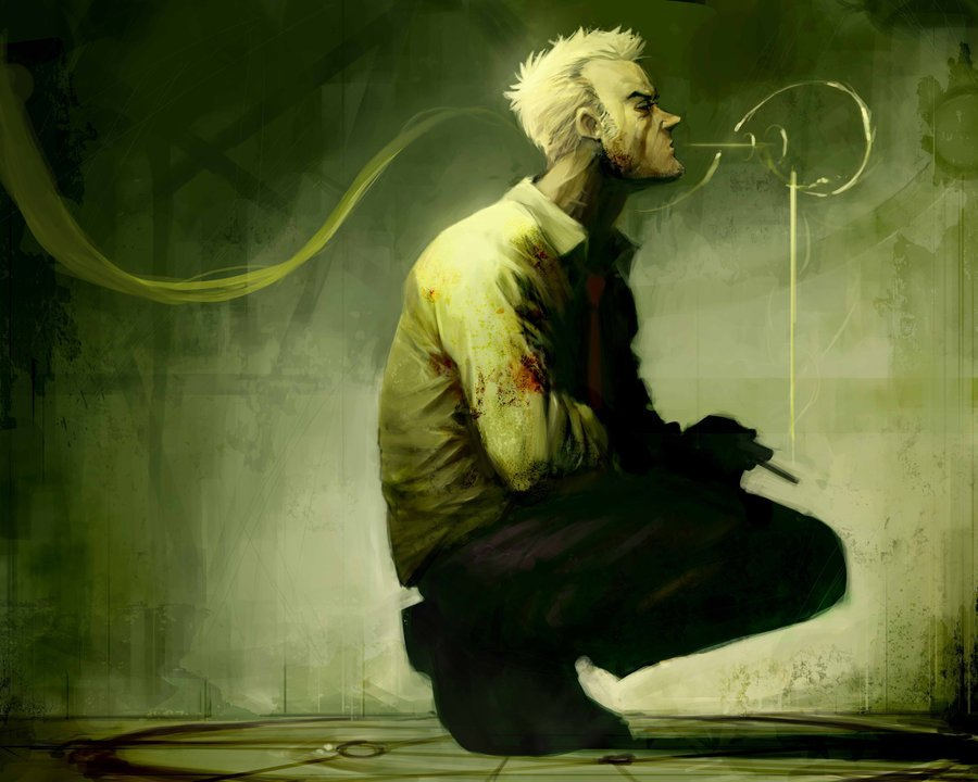 thehappysorceress:  Hellblazer by Reza Ilyasa Magic Monday