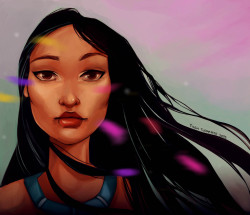 Pocahontas I've been a busy girl this weekend, 2 images!!  Don't forget to visit my DeviantArt, thank you! x