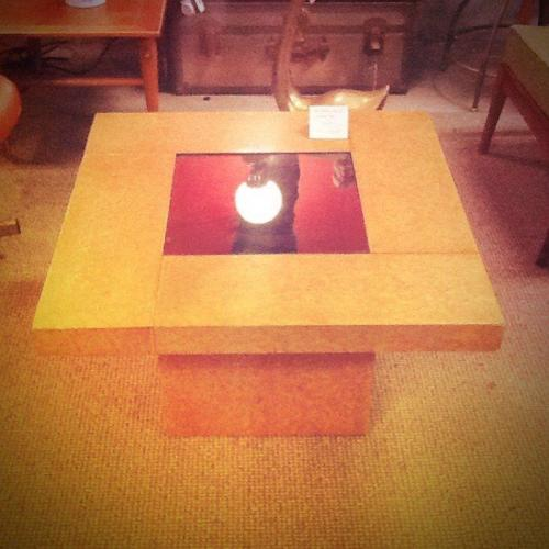 Art Deco Maple Wood Table $95.00 http://on.fb.me/14AUqId