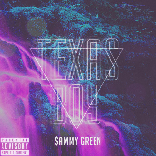 "$ammy Green's ""Texas Boy"" single artwork."
