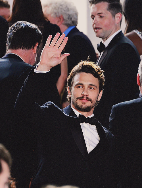 James Franco during the 66th Annual Cannes Film Festival at the Palais des Festivals on May 20, 2013.