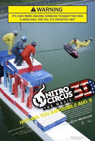 "I am watching Nitro Circus: The Movie                   ""I grewup thinking JackAss was insane but this show just rides straight over that show and leaves it flat on the floor…opening scene blew my mind""                                Check-in to               Nitro Circus: The Movie on GetGlue.com"