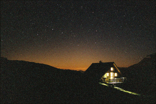 perfectmadness:  (via Refuge De La Valette By Night | Flickr - Photo Sharing!)