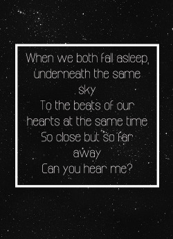 Beside You- 5 Seconds of Summer