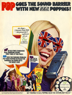 psychedelicway:  G.E.C Poppins Advert, 1967