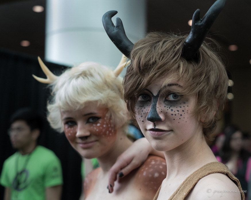 5rabbit:  Fauns.  Emerald City Comic Con.   From my latest 52 Project post