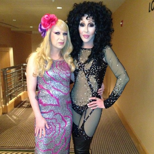 #sassy and @chadmichaels1 at #NOATG #cher