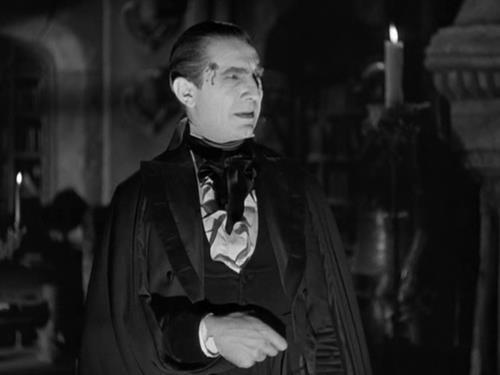 Béla Lugosi as Count Mora in Mark of the Vampire c. 1935