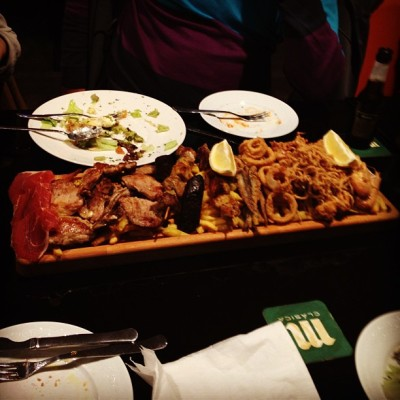 Meat Platter. (at El Trillo)