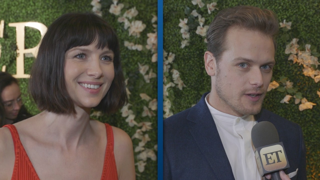 'Outlander' Bosses & Stars Reveal Why Jamie and Claire's Initials Scene Was Cut From Season 3! (Exclusive)