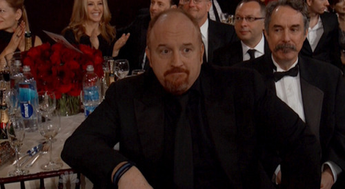 Ron Lynch at the Golden Globes.