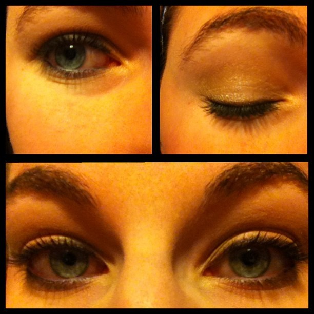 Make up from yesterday. #makeup #girly #cute #pretty #blueeyes
