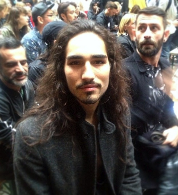 Willy Cartier & Marcelo Burlon in the audience of #Pigalle #Fashionshow | @timodellemagazine