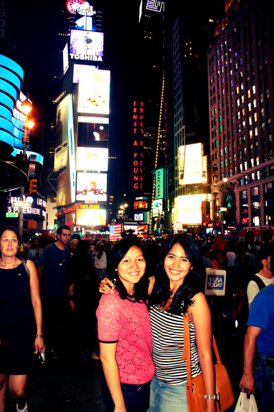 "Times Square New York - Summer 2012 ""Concrete jungles where dreams are made of"" I made it!!"