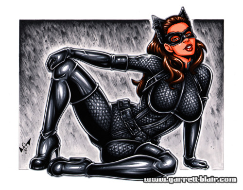 The Dark Knight Rises Catwoman by Garrett Blair