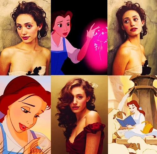 "thatfrenchhelper:   Beauty and the Beast Dreamcast - Emmy Rossum as Belle  ""I want adventure in the great wide somewhere. I want it more than I can tell.  And for once it might be grand  To have someone understand  I want so much more than they've got planned… """