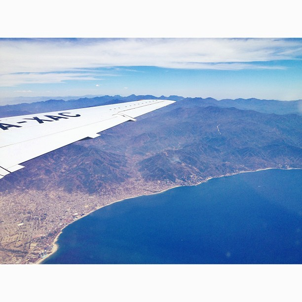 Bouncing out of Puerto Vallarta earlier today