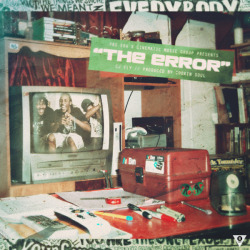 "CJ FLY ""THE ERROR"" PROD. BY COOKIN SOUL.COVER_ARTWORK. (2013)*Tool : Adobe Photoshop & After Effect CS 3"