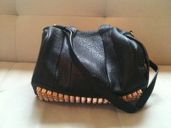 My darlinghead of a boyfriend just bought me this Alexander Wang Rocco Bag in Rose Gold for my birthday! How lucky am I?!?!