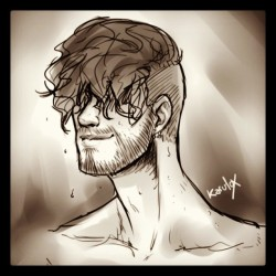 Beards are smexy #beard #sexy #Drawings #karu #ThisIsNotATag #smexy #sketch