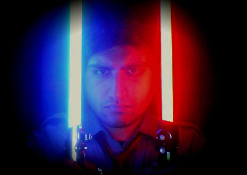 Jedi vs Sith. Always at war with the self; everyone is both good and evil. Never outweigh the other to an extreme. Keep yourself and your mind at a balance and never step too far into the shadow. Likewise, do not spend your life in the light. This is our struggle, this is our understanding.