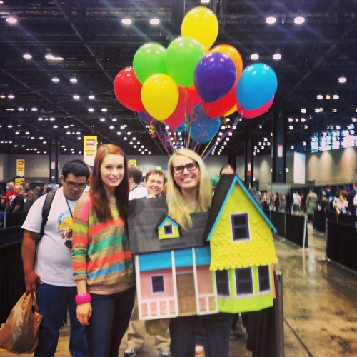 Best cosplay ever! House from Up!!! #C2E2