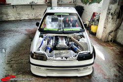SR20DET powered RWD CRX?! This is crazy.  (via SR20DET Powered RWD Honda CRX from Greece | MotorMavens Readers Blog)