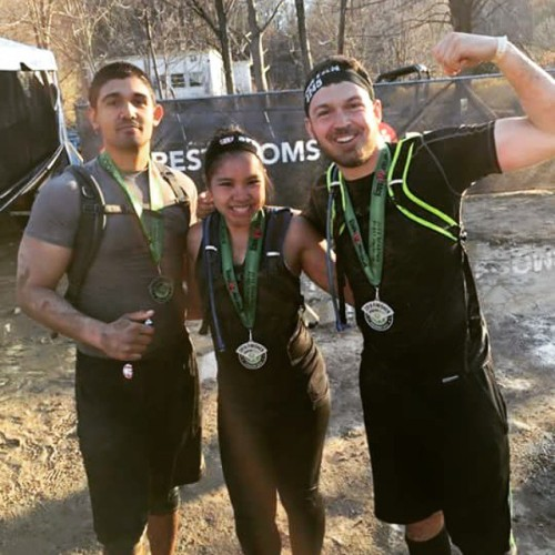 14 miles, 32 obstacles, and crazy elevations. Such an awesome time! #teamamericanbrewcrew #spartanrace #beast #repost (at Mountain Creek) #beast#spartanrace#teamamericanbrewcrew#repost