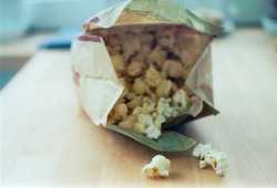 amantissima:  microwave popcorn on Flickr.
