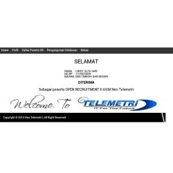 Alhamdulillah :') i'll try my best for the next  #neotelemetri #lulus #OR6 #unand #organization #instadaily #androidonly #androidnesia #igers