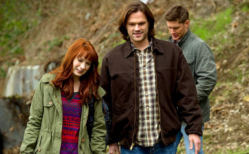 (via 'Supernatural': Felicia Day talks playing Charlie in 'Pac Man Fever' | Inside TV | EW.com) TONIGHT! Please watch the ep, it's written by the same writer Robbie Thompson who has written all the Charlie scripts. So honored to be back, it's a great episode, please watch tonight on CW!!!