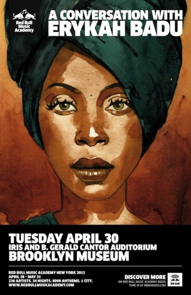 (via Red Bull Music Academy presents A Conversation with Erykah Badu | Red Bull Music Academy)