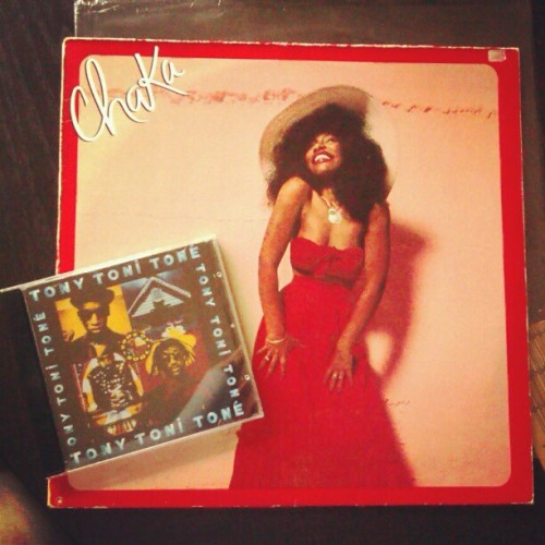 Very nice purchases #chakakhan #tonytonitone