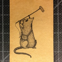 "Titled: ""If you were a rat""  …my boyfriend does sound for movies."
