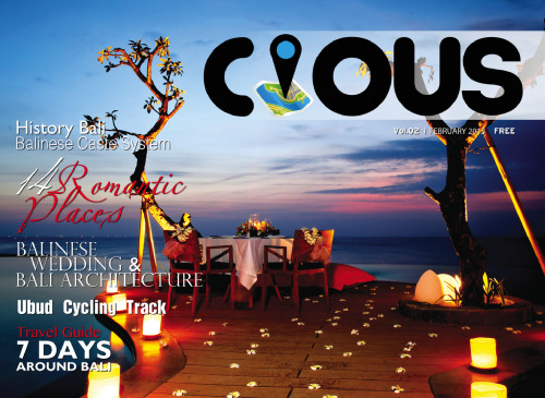 Cious Magazine Vol.2 - February | 14 Romantic Place in Bali