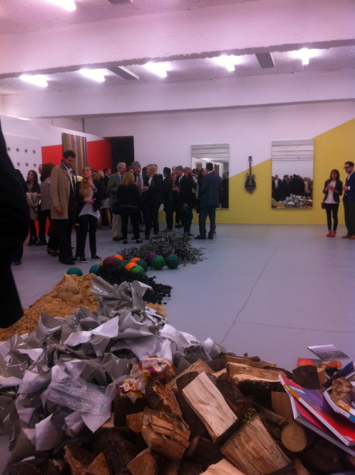 John Armleder solo show at the Dairy new space in Londonhttp://dairyartcentre.org.uk
