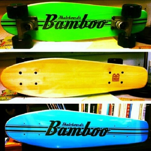 My next cruiser forsure! #skatelife #Bamboo @bamboo_skateboards #LA