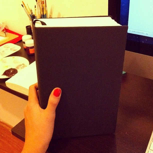 DIY Super sized sketchbook