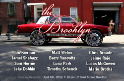 THE BROOKLYN: Brooklyn Street PhotographyOpens Friday, April 5, 7-10pm 17 Frost Street, Brooklyn