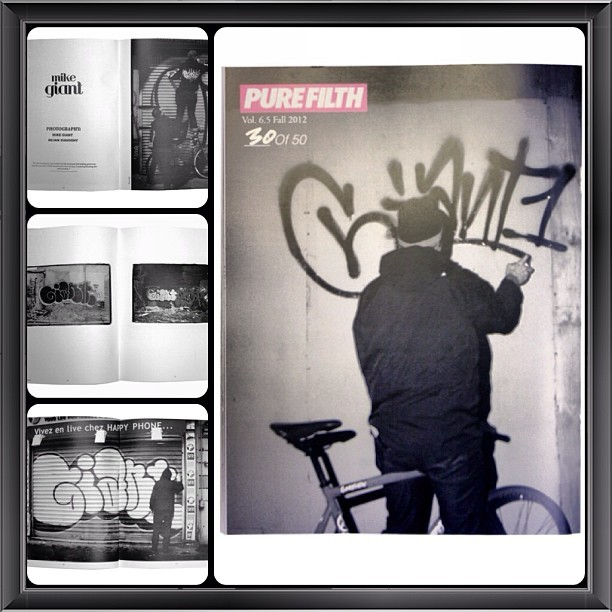 purefilthmagazine:  SOLD OUT!  Vol.6.5 featuring #MikeGiant, #ShayLaren and #EllenStagg available. #purefilth #graffiti #erotica #atx #girlsandgraffiti