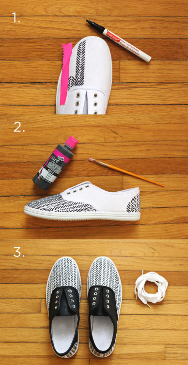 DIY Springtime Sneakers A Beautiful Mess