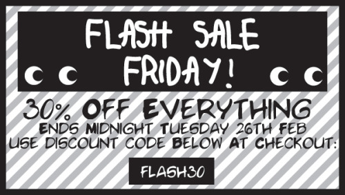 Perk yourself up with a Not For Ponies fashion fix Flash Sale Friday - 30% Off Everything With Discount Code FLASH30 Sale Ends Midnight Tuesday