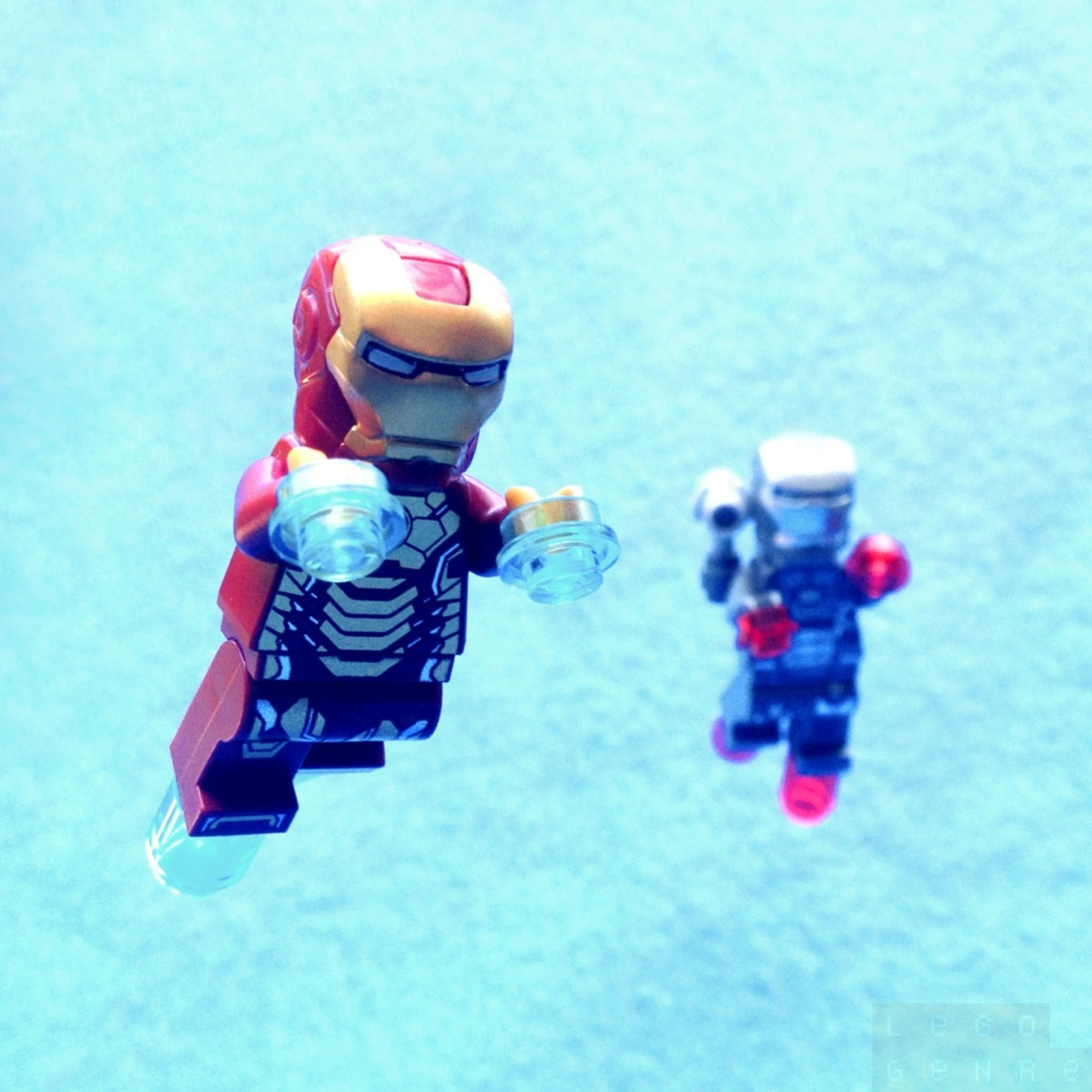 Iron Man In Flight. — http://legogenre.com/